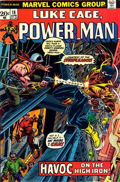 Cover for Power Man (Marvel, 1974 series) #18