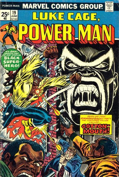 Cover for Power Man (Marvel, 1974 series) #19