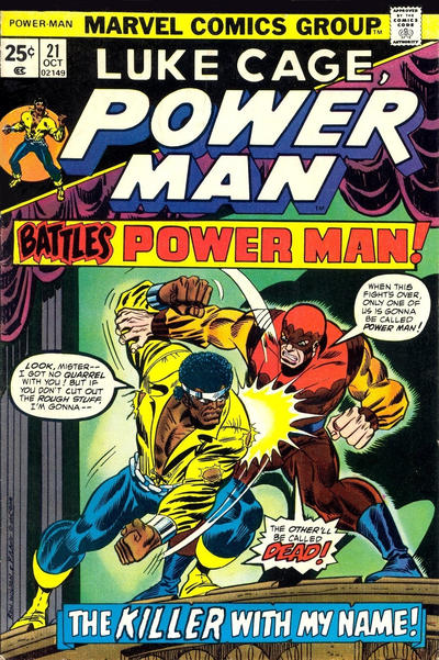 Cover for Power Man (Marvel, 1974 series) #21