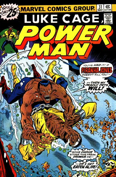Cover for Power Man (Marvel, 1974 series) #31
