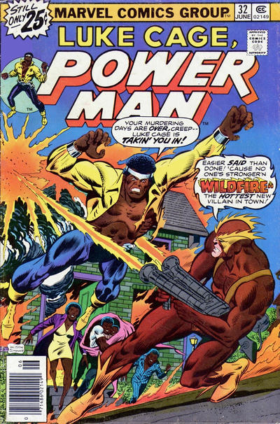 Cover for Power Man (Marvel, 1974 series) #32