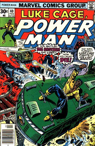 Cover for Power Man (Marvel, 1974 series) #40