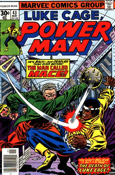 Cover for Power Man (Marvel, 1974 series) #43