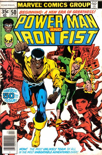 Cover for Power Man (Marvel, 1974 series) #50 [British]