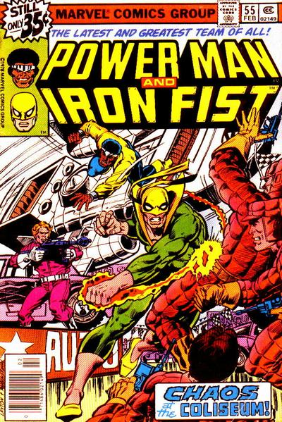 Cover for Power Man (Marvel, 1974 series) #55