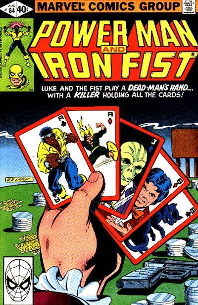 Cover for Power Man (Marvel, 1974 series) #64