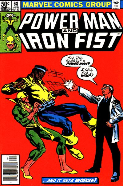 Cover for Power Man and Iron Fist (Marvel, 1981 series) #68 [newsstand]