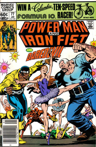 Cover for Power Man and Iron Fist (Marvel, 1981 series) #77