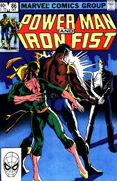 Cover for Power Man and Iron Fist (Marvel, 1981 series) #86