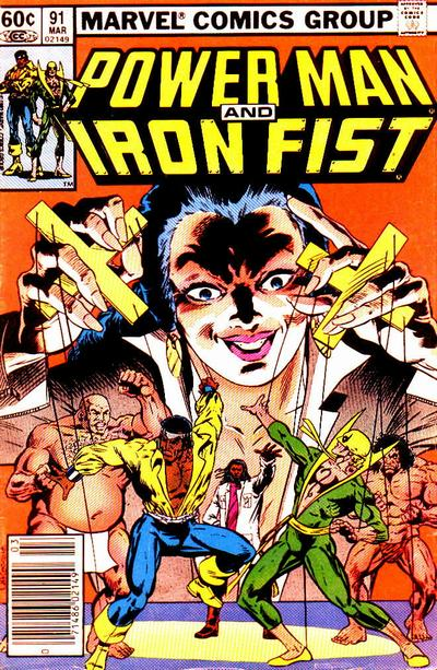 Cover for Power Man and Iron Fist (Marvel, 1981 series) #91