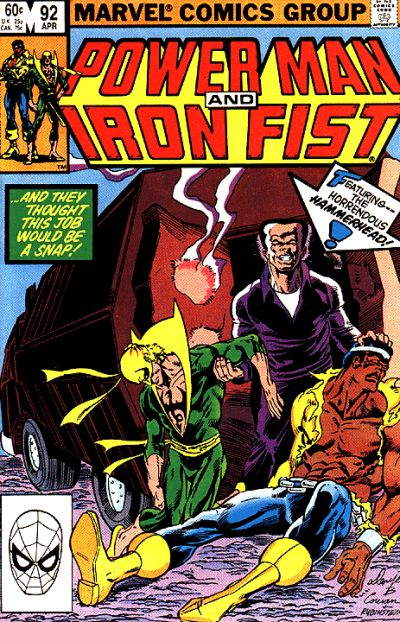 Cover for Power Man and Iron Fist (Marvel, 1981 series) #92 [direct]