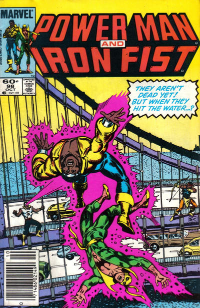 Cover for Power Man and Iron Fist (Marvel, 1981 series) #98
