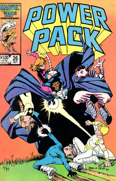 Cover for Power Pack (Marvel, 1984 series) #26