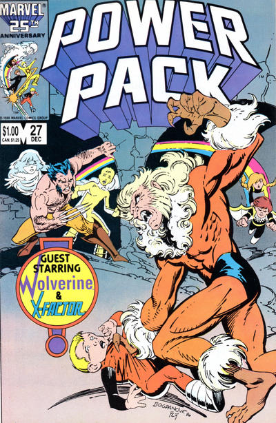 Cover for Power Pack (Marvel, 1984 series) #27