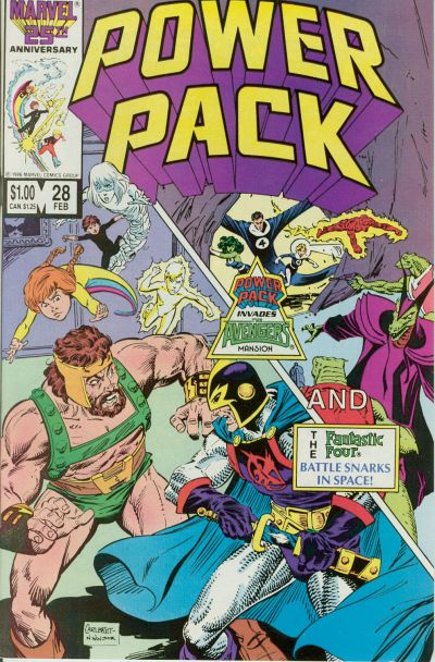 Cover for Power Pack (Marvel, 1984 series) #28
