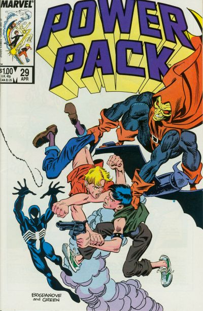 Cover for Power Pack (Marvel, 1984 series) #29