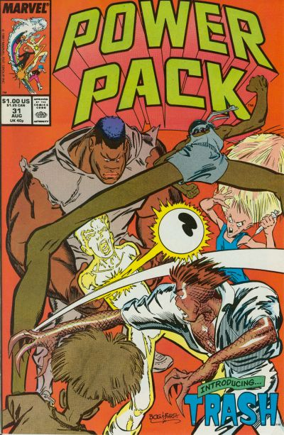Cover for Power Pack (Marvel, 1984 series) #31