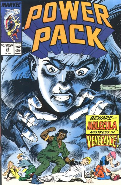Cover for Power Pack (Marvel, 1984 series) #38