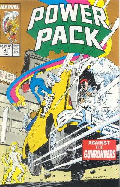 Cover for Power Pack (Marvel, 1984 series) #41