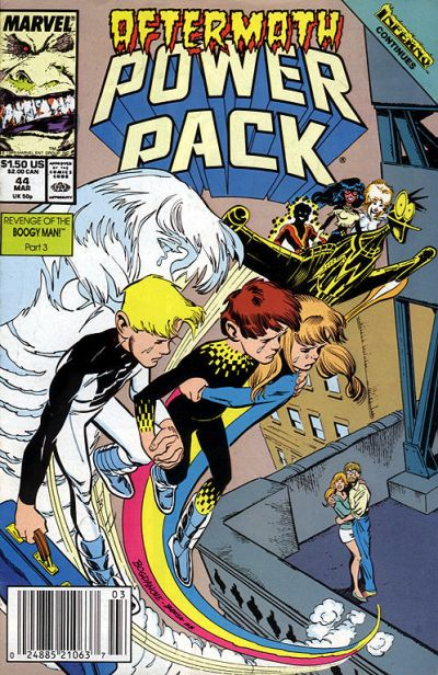 Cover for Power Pack (Marvel, 1984 series) #44