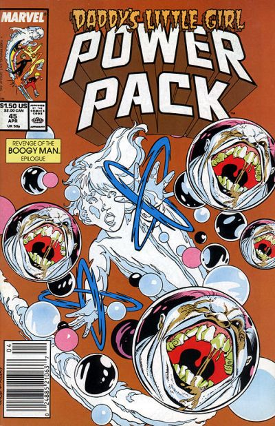 Cover for Power Pack (Marvel, 1984 series) #45