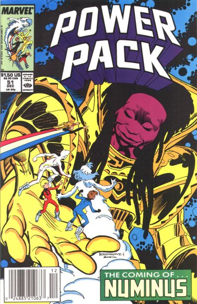 Cover for Power Pack (Marvel, 1984 series) #51