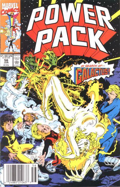 Cover for Power Pack (Marvel, 1984 series) #56