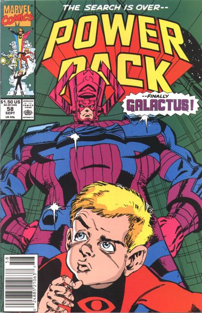 Cover for Power Pack (Marvel, 1984 series) #58
