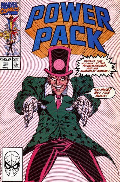 Cover for Power Pack (Marvel, 1984 series) #59