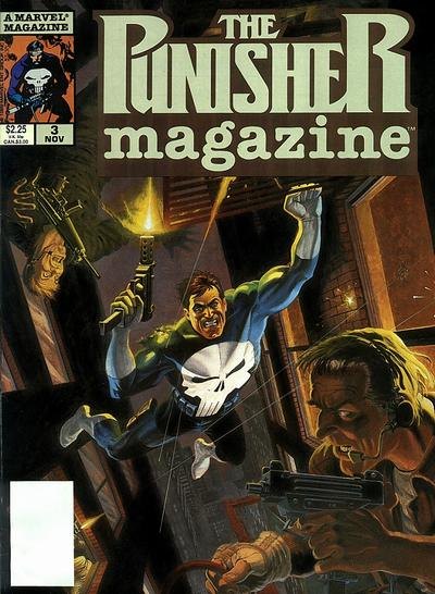 Cover for The Punisher Magazine (Marvel, 1989 series) #3