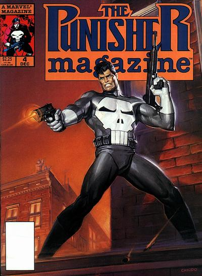 Cover for The Punisher Magazine (Marvel, 1989 series) #4