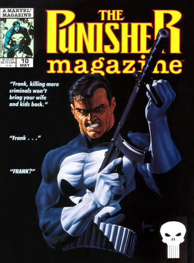 Cover for The Punisher Magazine (Marvel, 1989 series) #10