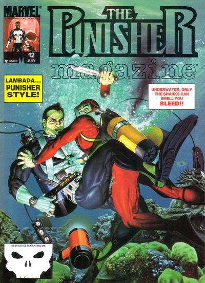 Cover for The Punisher Magazine (Marvel, 1989 series) #12