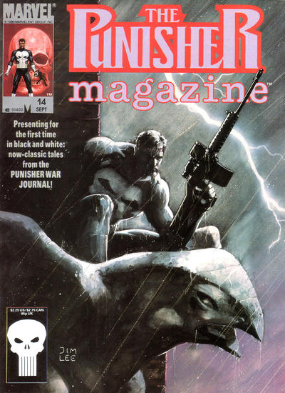 Cover for The Punisher Magazine (Marvel, 1989 series) #14