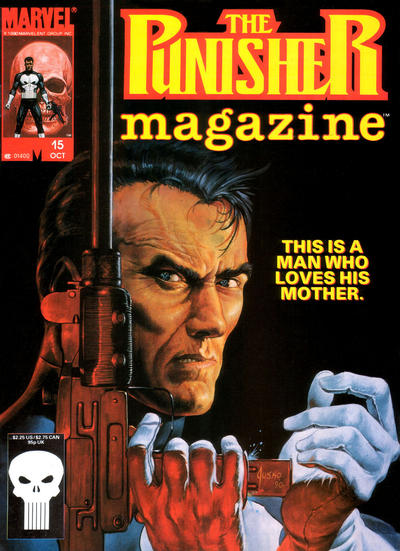Cover for The Punisher Magazine (Marvel, 1989 series) #15