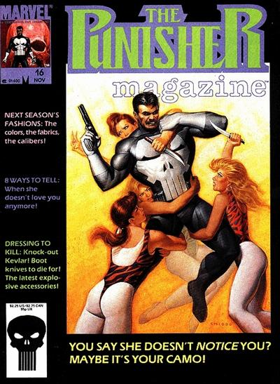 Cover for The Punisher Magazine (Marvel, 1989 series) #16