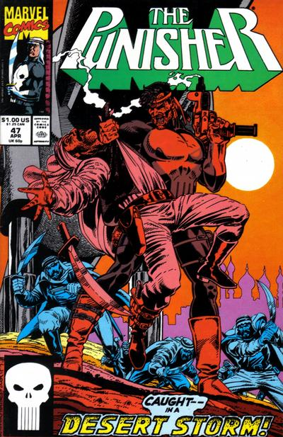 Cover for The Punisher (Marvel, 1987 series) #47