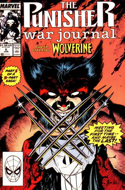 Cover for The Punisher War Journal (Marvel, 1988 series) #6