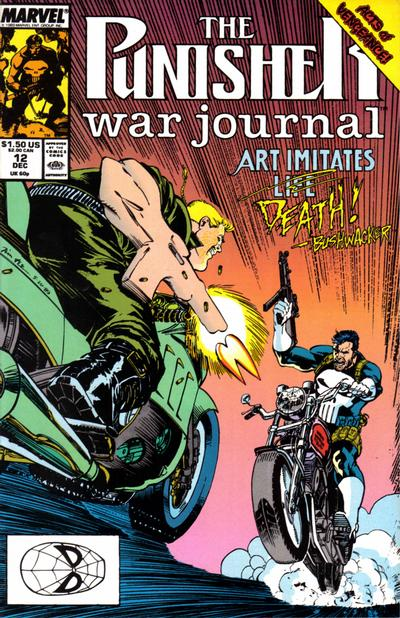 Cover for The Punisher War Journal (Marvel, 1988 series) #12 [Direct]