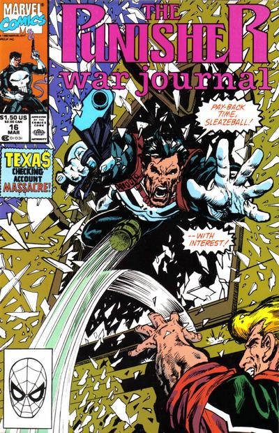 Cover for The Punisher War Journal (Marvel, 1988 series) #16