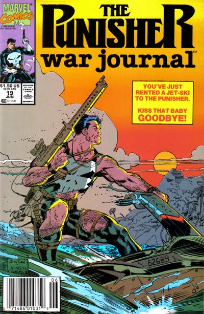 Cover for The Punisher War Journal (Marvel, 1988 series) #19 [Direct]