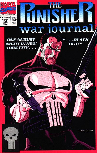 Cover for The Punisher War Journal (Marvel, 1988 series) #34
