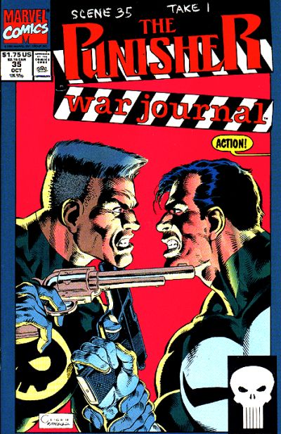 Cover for The Punisher War Journal (Marvel, 1988 series) #35