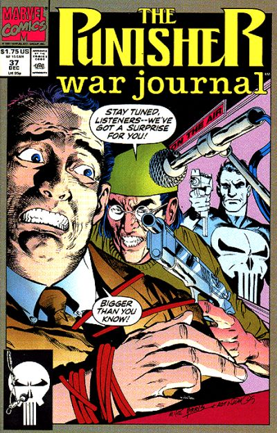 Cover for The Punisher War Journal (Marvel, 1988 series) #37 [Newsstand]