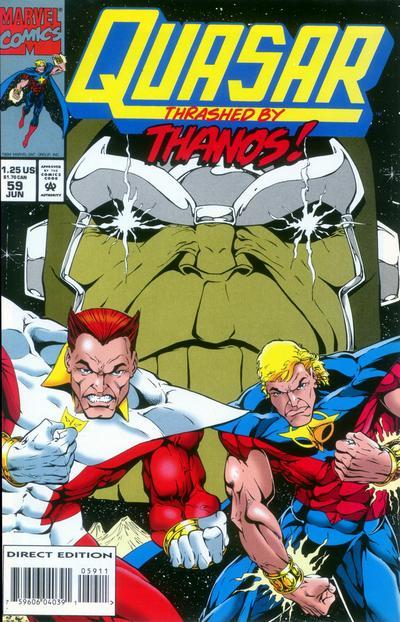Cover for Quasar (Marvel, 1989 series) #59