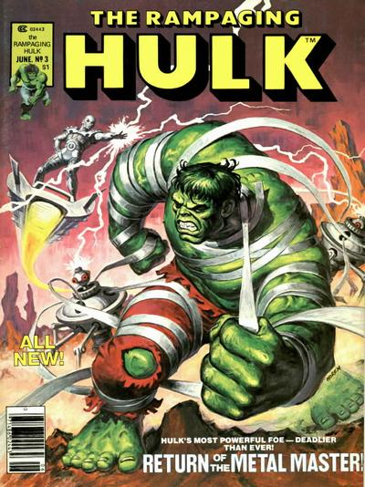 Cover for Rampaging Hulk (Marvel, 1977 series) #3