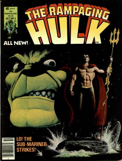 Cover for Rampaging Hulk (Marvel, 1977 series) #5