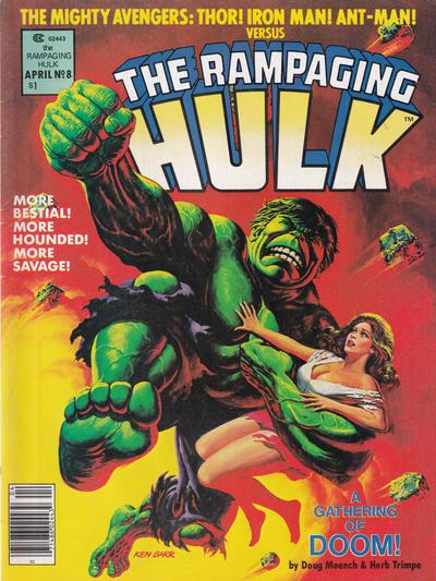 Cover for Rampaging Hulk (Marvel, 1977 series) #8