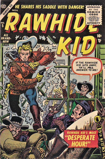 Cover for Rawhide Kid (Marvel, 1955 series) #5