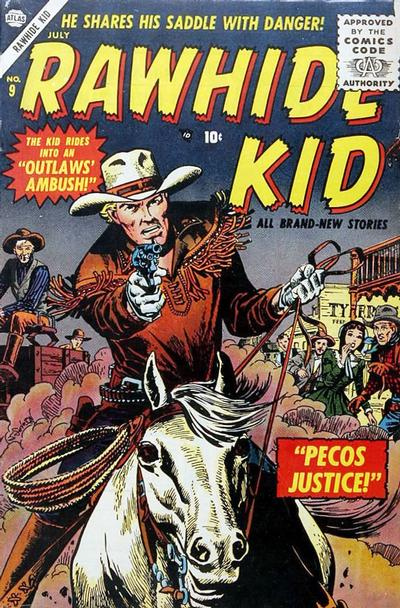 Cover for Rawhide Kid (Marvel, 1955 series) #9